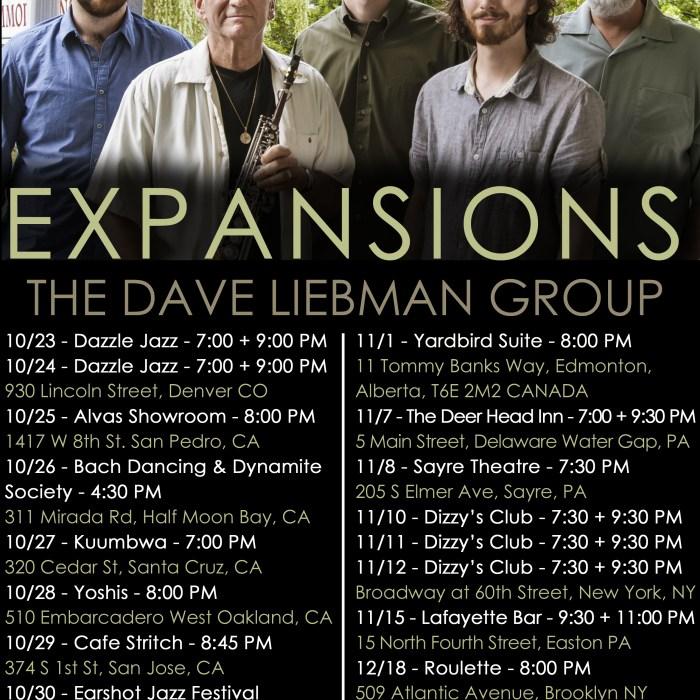 Dave Liebman Expansions 10/23/14