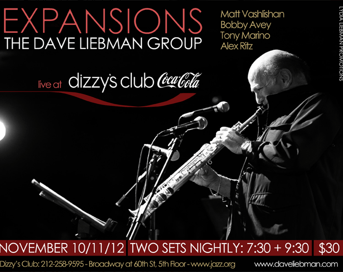 Dave Liebman Expansions 11/10/14