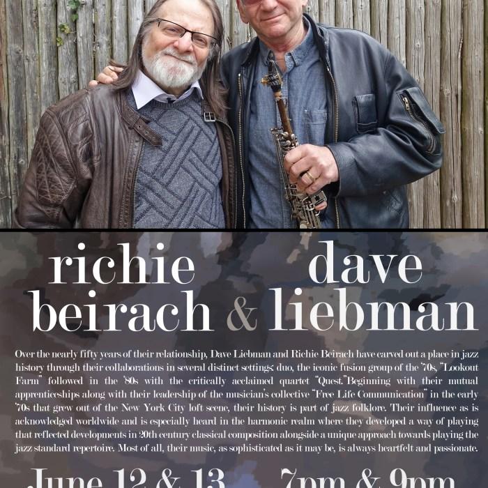 Dave Liebman & Richie Beirach 6/12/15