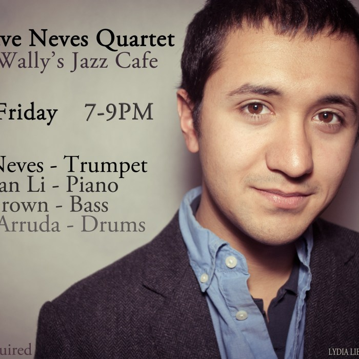 Dave Neves Quartet 6/2/12