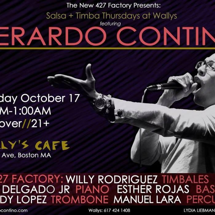 Gerardo Contino 10/17/13