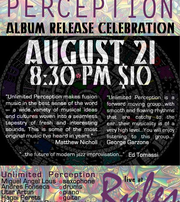 Unlimited Perception 8/21/13