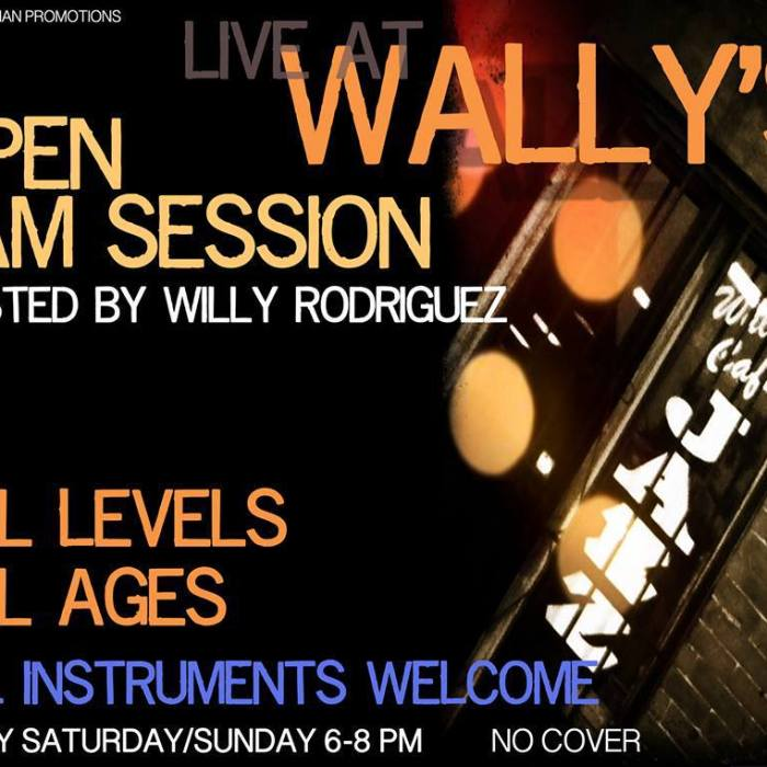 Wallys Jam Session 7/1/13