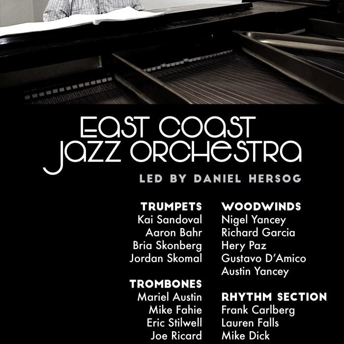 East Coast Jazz Orchestra, Zinc Bar, 5/5/16