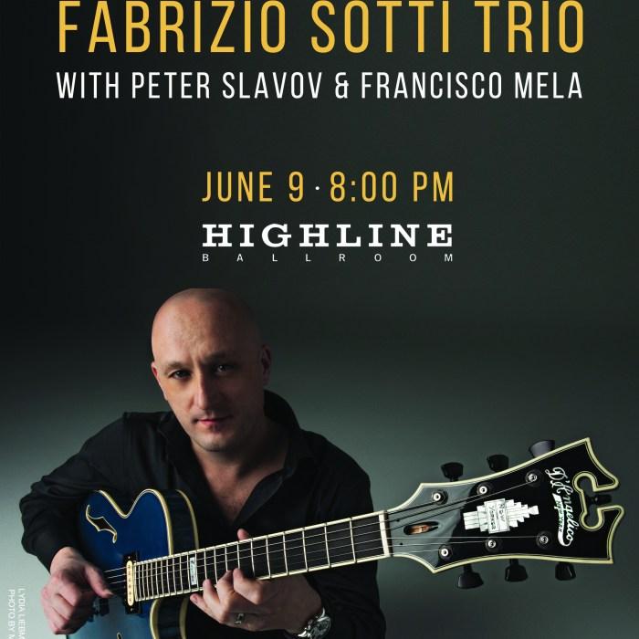 Fabrizio Sotti, Highline Ballroom, 6/9/16