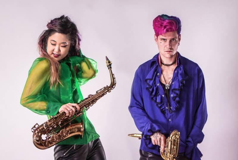 RADIO: '2 Saxy,' The Jazzy Duo / Grace Kelly on WGBH