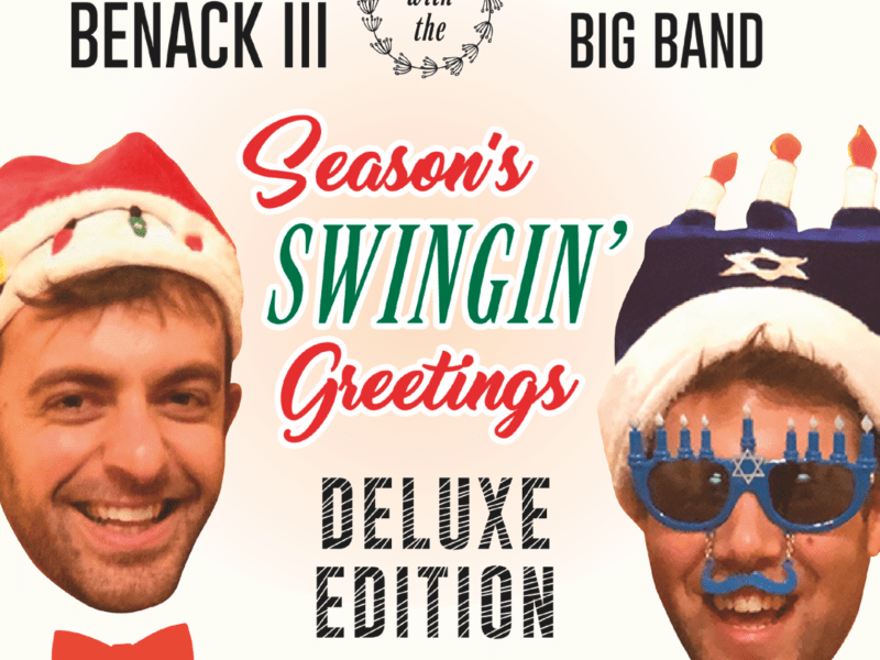 NEW RELEASE: Pianist Steven Feifke and Trumpeter and Vocalist Benny Benack III Collaborate on Holiday Record SEASON'S SWINGIN' GREETINGS due out November 19, 2021 via Cellar Music Group