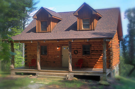 Lydia Mountain Lodge  Log Cabins  Crooked Oak