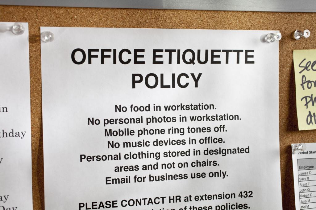 Office Refrigerator Etiquette Rules