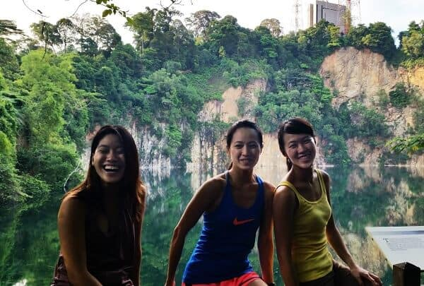 Singapore women in travel - Photo was taken at Bukit Timah Hike in Singapore
