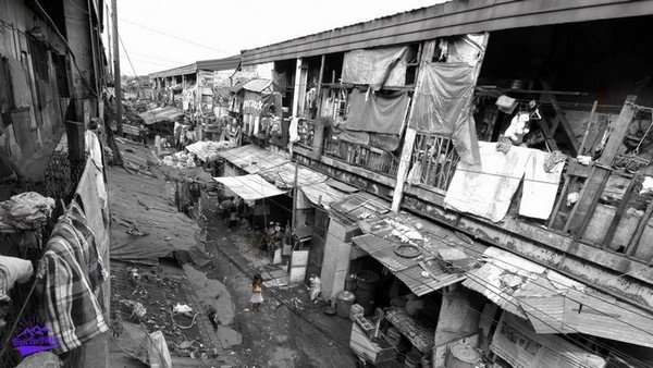 slums of waste and yet their comfort and home at the same time