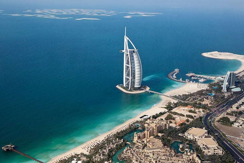 Dubai aerial View _ Dubai and All of Middle East Sights