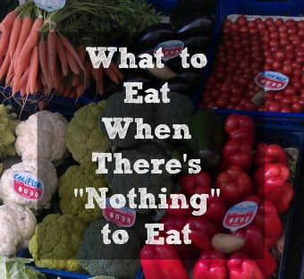 My Elimination Diet Part Two: What Do You Eat?