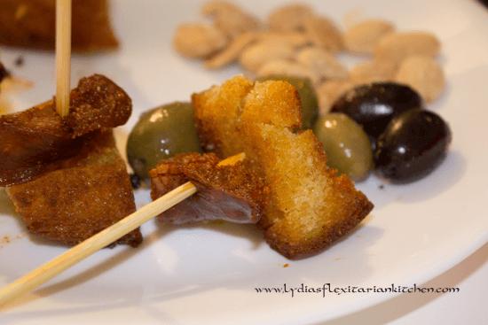 Tapas Tuesday: Fried Bread and Chorizo