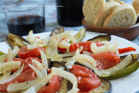 Escalivada ~ Roasted Veggie Salad