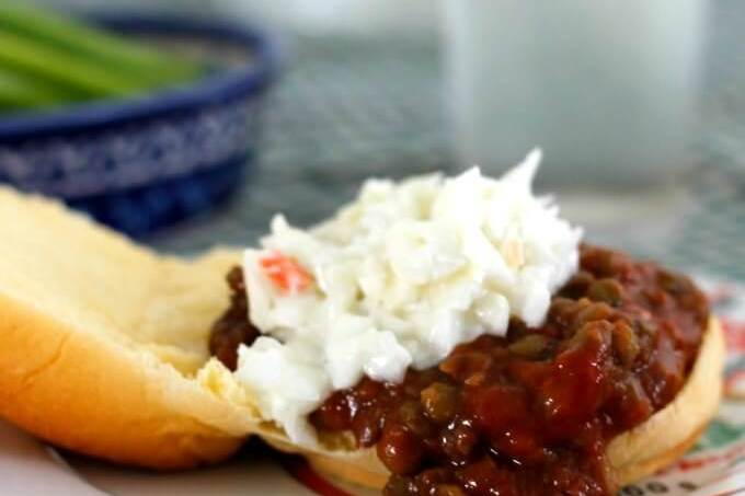 Meatless Mondays: Lentil Joes