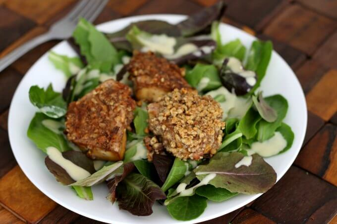 Meatless Monday: Walnut Crusted Tofu
