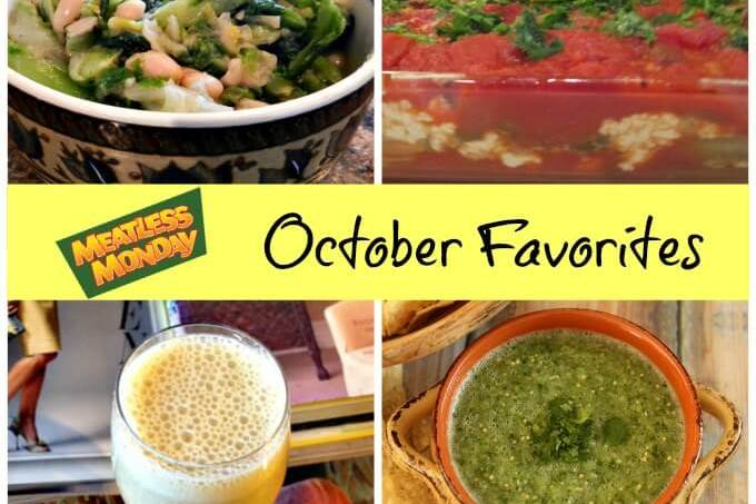 Meatless Monday: October Favorites