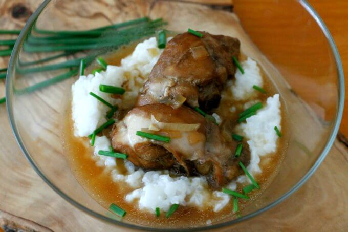 Samoan Style Chicken & Coconut Rice {Food of the World}