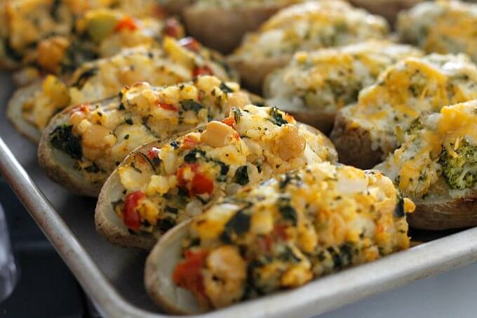 Twice Baked Potatoes {Eat Some Now, Freeze Some For Later}
