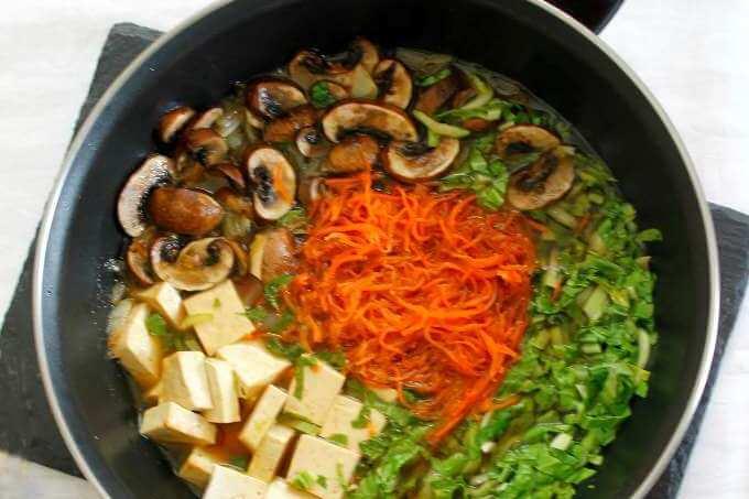 Vegan Sukiyaki {Food of the World}
