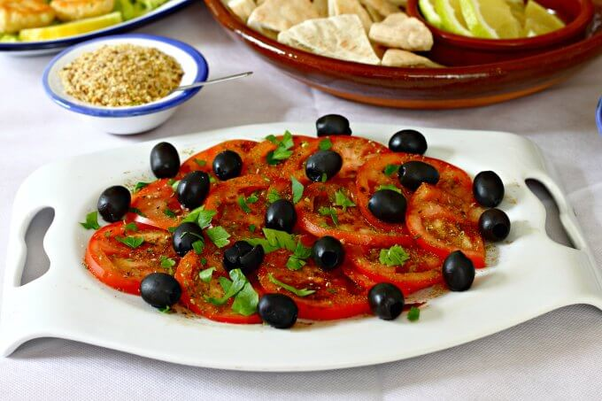 Tomatoes Jarra Marra {World Tapas Day}