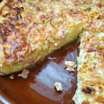 Ham and Leek Quiche ~ Camino Flavors ~ Lydia's Flexitarian Kitchen