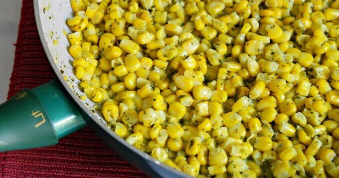 Cilantro Lime Corn