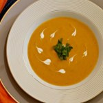 Carrot & Coriander Soup ~ Lydia's Flexitarian Kitchen