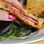 Salami and Cheese in Puff Pastry ~ Lydia's Flexitarian Kitchen