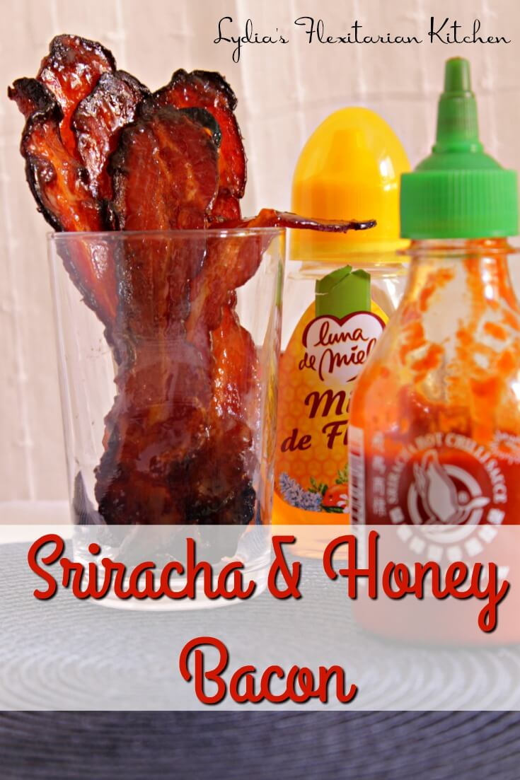 Wake up your palate with sweet and spicy sriracha and honey bacon. It's easy to make and would be great to take to a potluck.