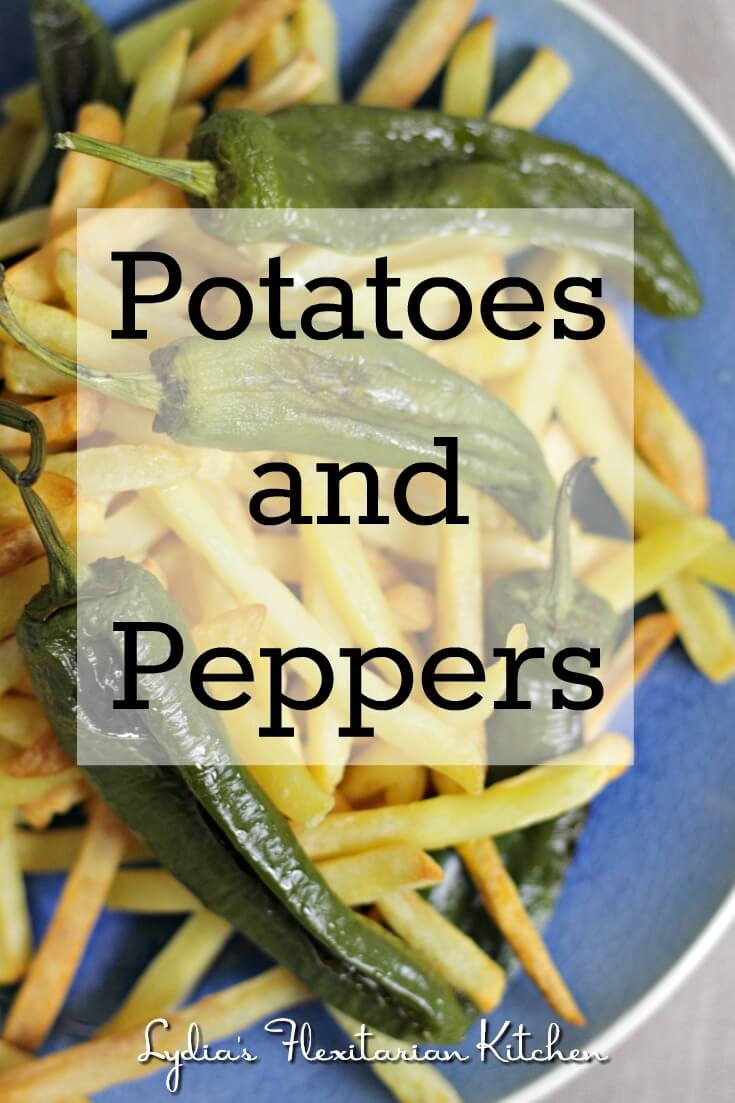 Fried potatoes and Padrón peppers are a popular combination. Try them for #Tapas Tuesdays.