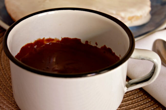 Spanish Style Hot Chocolate for Your Sweetie ~ Lydia's Flexitarian Kitchen