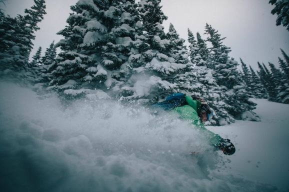 Powder day in my backyard! PC Joey Schusler