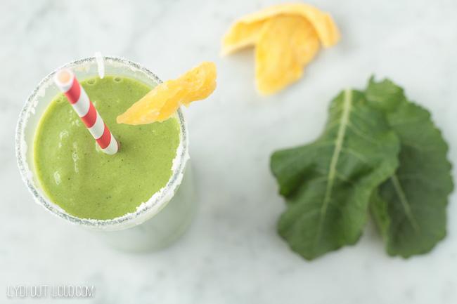 Delicious Tropi-KALE Green smoothie