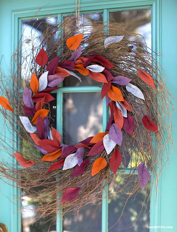 30 gorgeous fall wreaths