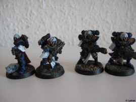 Sisters of Battle with boltguns