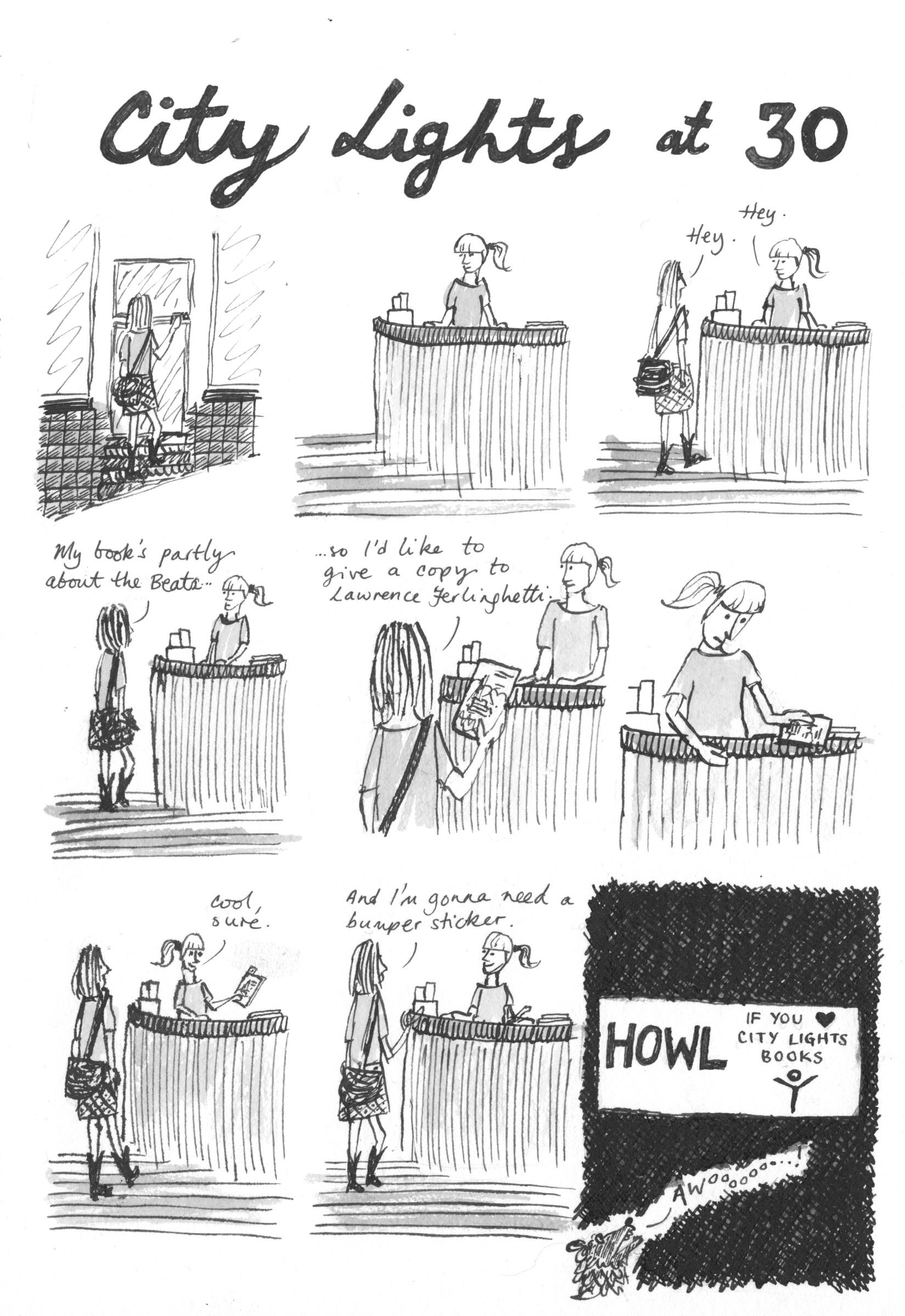 Comic: City Lights at 30