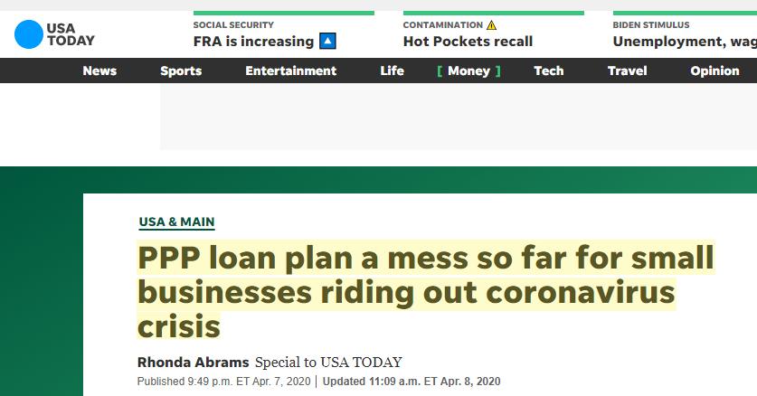 ppp loan 2021