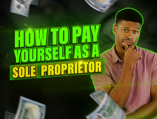pay yourself as a sole proprietor