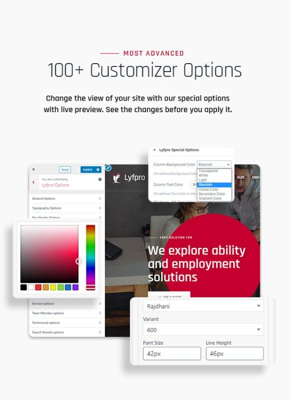 Lyfpro WordPress Theme