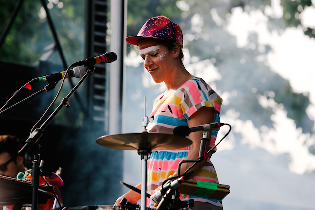 tUnE-yArDs at Pitchfork Music Festival 2014 - Photo by Ellie Pritts