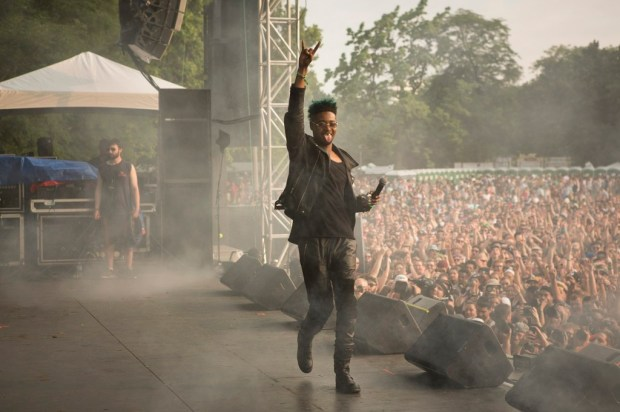 Danny Brown at Pitchfork Music Festival 2014 by Jessica Lehrman