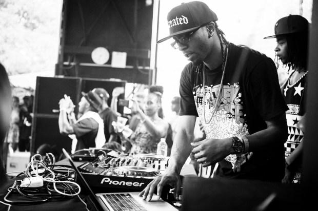 DJ Spinn and Treated crew