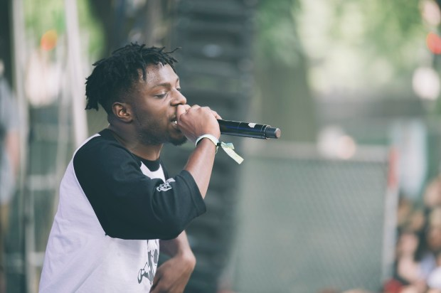 Isaiah Rashad-01-Pitchfork Chicago-Photo by Tom Spray