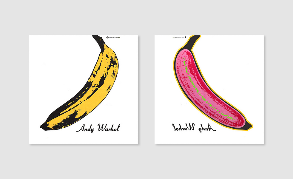 What The Backsides Of Famous Album Covers Look Like