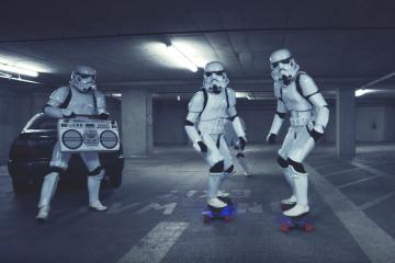 Stormtroopers Longboard