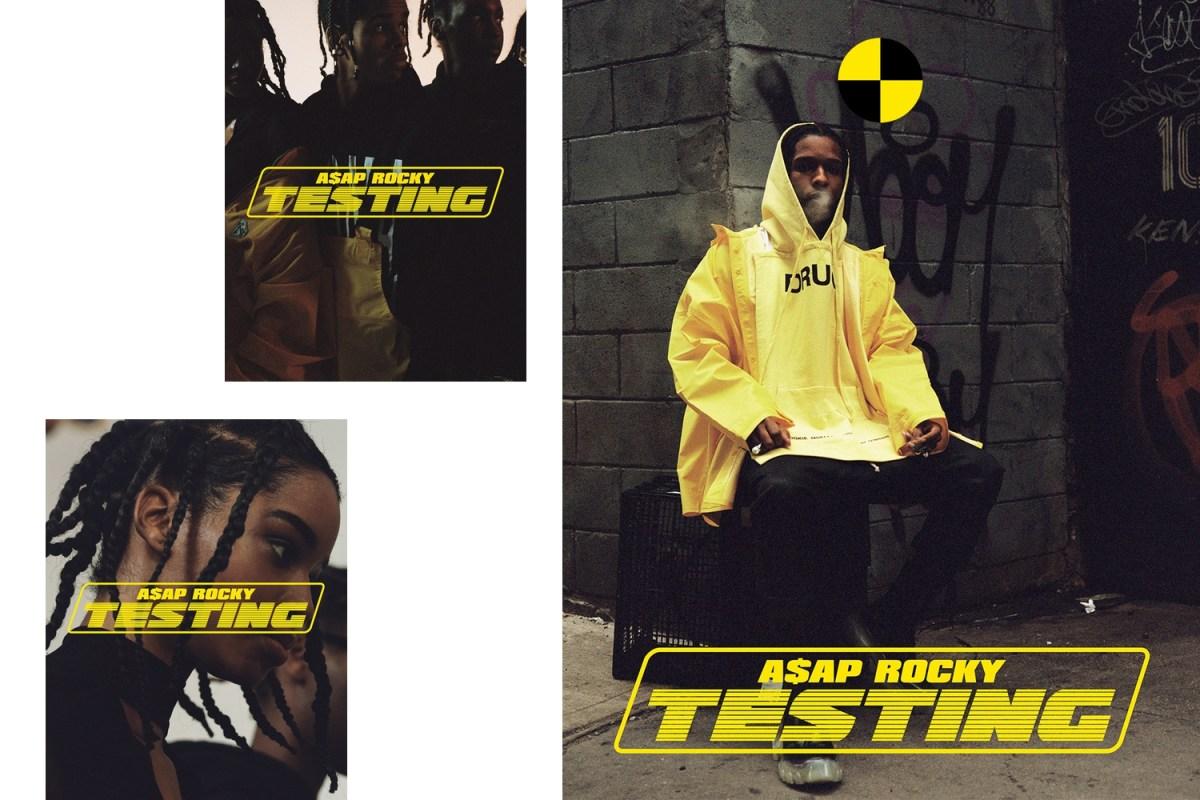 A$AP Rocky, TE$TING