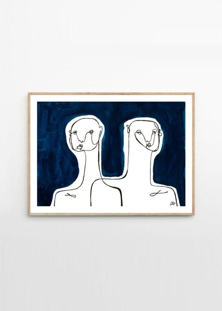 Art print by Anna Mörner