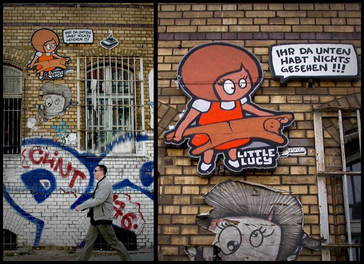 El Bacho The Radical Street Art of Berlin